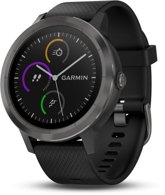 Sportuhren Garmin : Garmin vívoactive gps sportuhr mit schwarzem silikonarmband